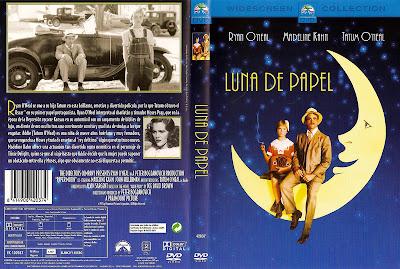 Luna de papel | 1973 | Paper Moon , Caratula, cover, dvd