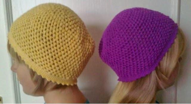 kreativstbchen hkelmtzen aus bschelmaschen perfekt fr den herbst - Hakelmutzen Muster