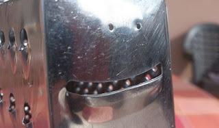 El rallador sonriente