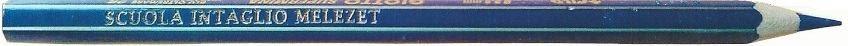 matita blu della Scuola Intaglio Melezet