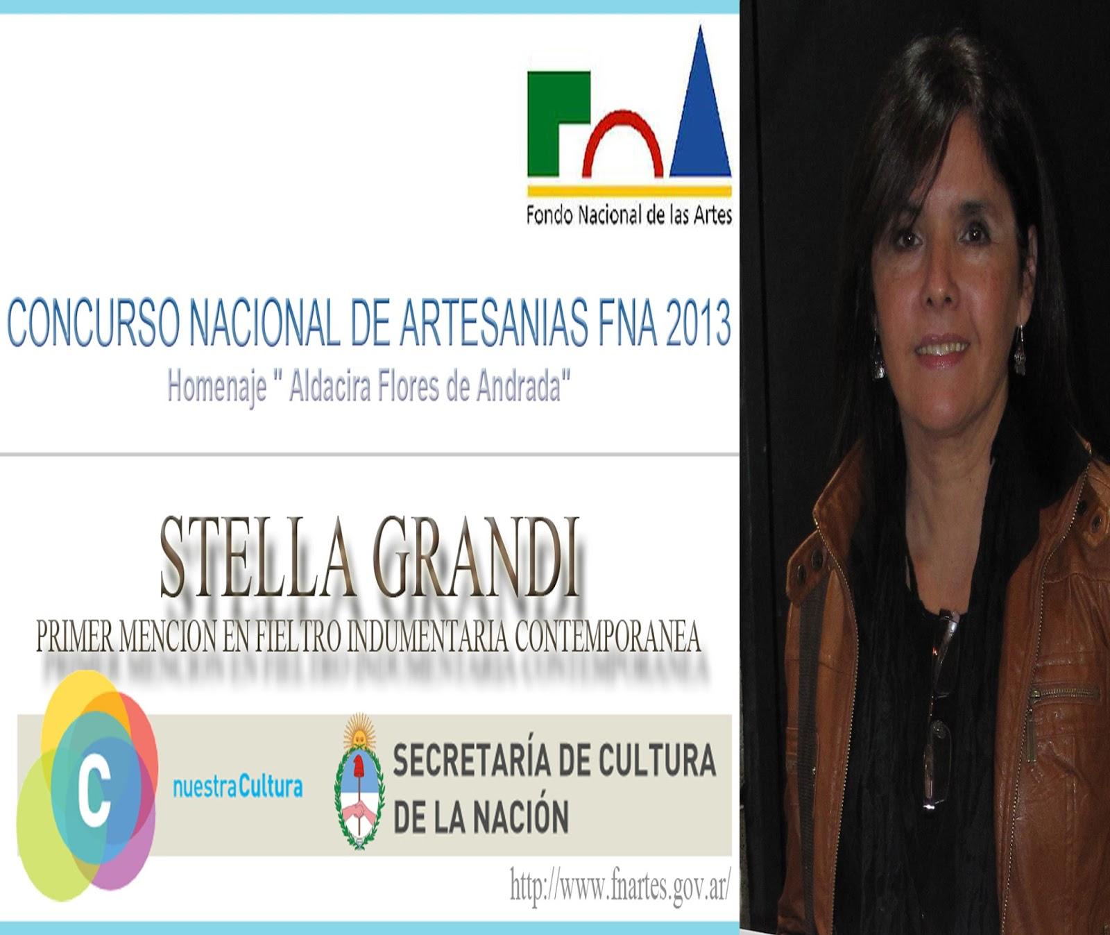 PREMIO FONDO NACIONAL DE LAS ARTES 2013 | CONCURSO DE ARTESANIAS