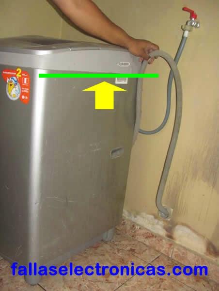 Lavadora lg samsung no retiene agua se va al drenaje - Instalar un lavavajillas al fregadero ...