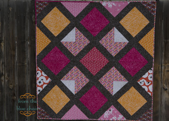 From The Blue Chair Lattice Quilt Pattern 3 Diamond Lattice