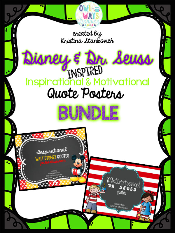 http://www.teacherspayteachers.com/Product/BlackFriday14-Dr-Seuss-Disney-Inspired-Quote-Poster-BUNDLE-Set-1582138
