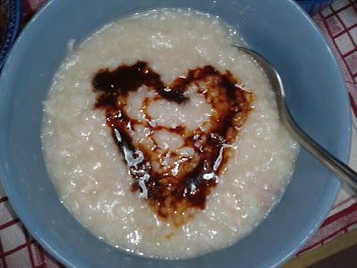 Porridge With Marmite