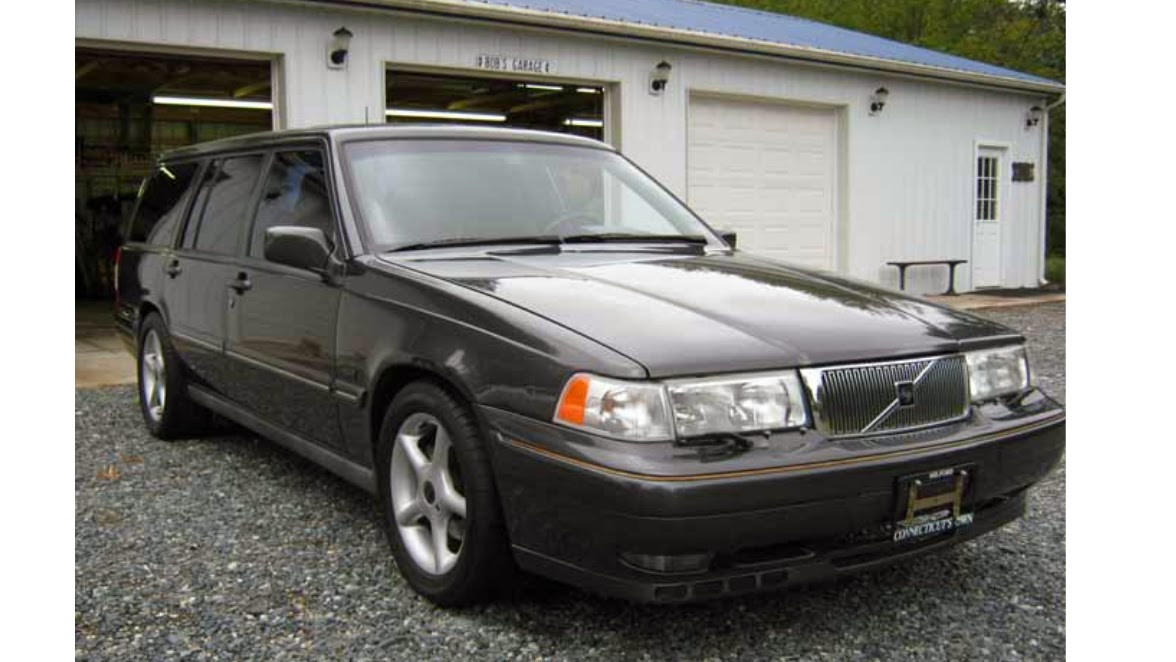 Daily Turismo: Found! Paul Newman\'s 1995 Volvo 960 V8 With Puffer