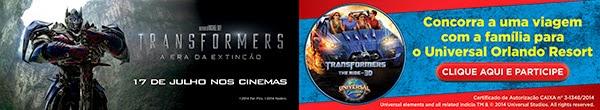 """Concurso cultural Cinemark - """"Transformers"""""""