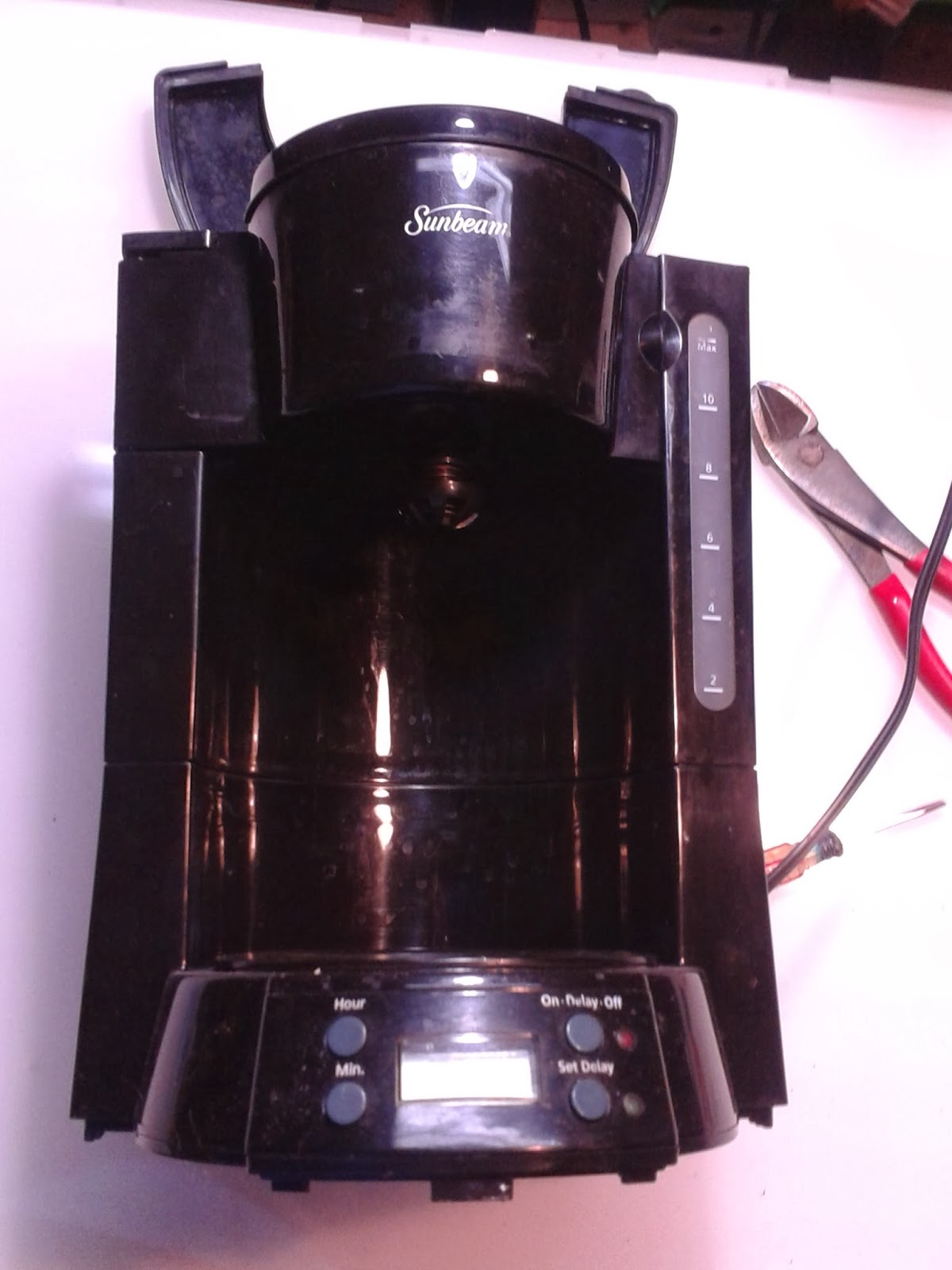 Coffee Maker Heating Element Test : Learn By Making: Coffee Maker double hack