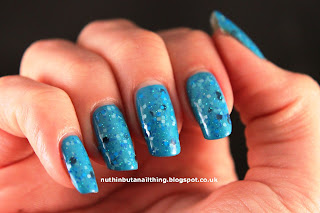 Lush Lacquer Bonkers 4 Blue Nail Polish Swatches