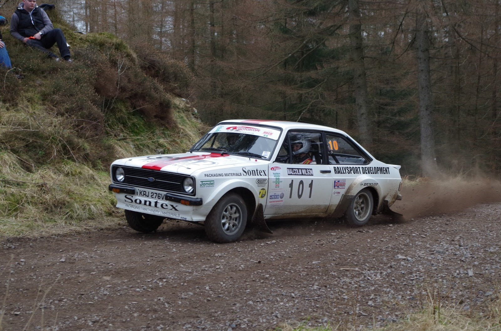 Malcolm Wilson Rally: Escort Mk2 Images | Caution Don\'t Cut