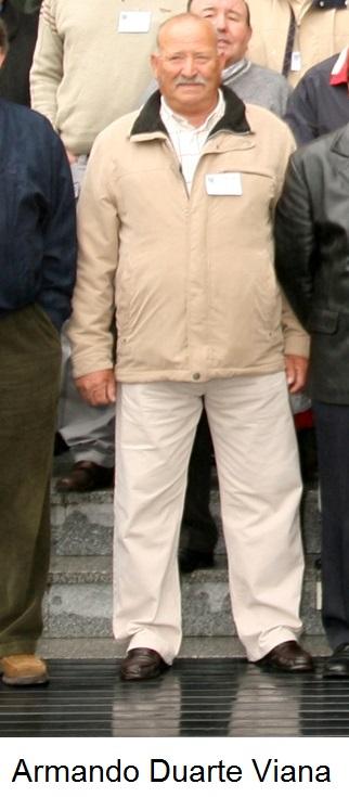 Armando Duarte da Silva Viana, falecido em Junho de 2018.