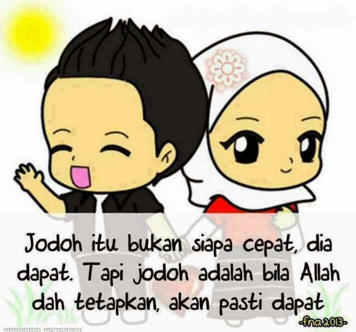 Download Gambar Kartun Muslimah Menangis