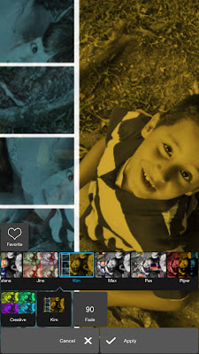 Editas fotos desde el telefono con Pixlr para android 6
