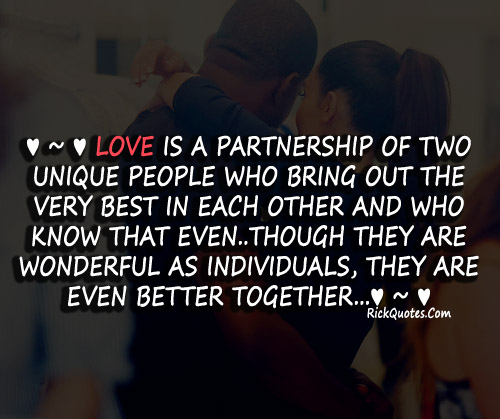Together Quotes Love Is A Partnership Simple Together Quotes