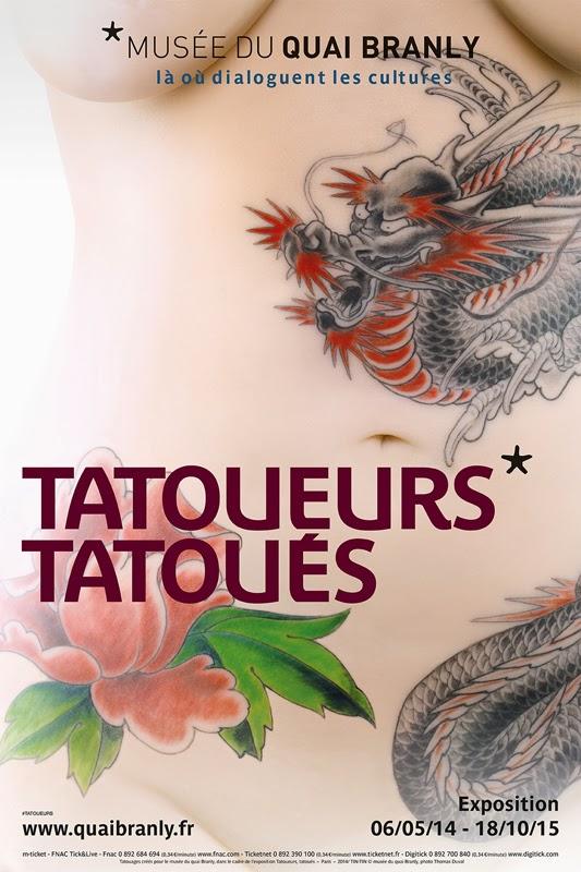 Affiche expo Tatoueurs tatoués