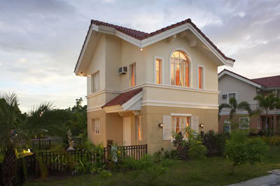 Lavender model house of Savannah Trails Iloilo by Camella Homes ...
