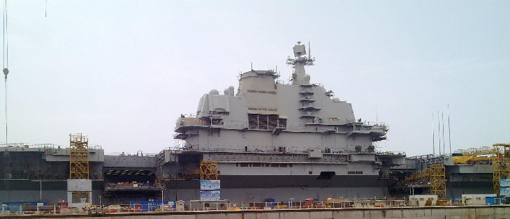Chinese aircraft carrier Varyag picture