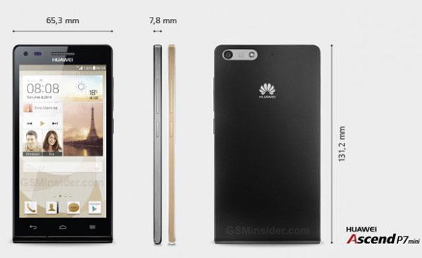 Huawei Sudah Siapkan Ascend P7 Mini