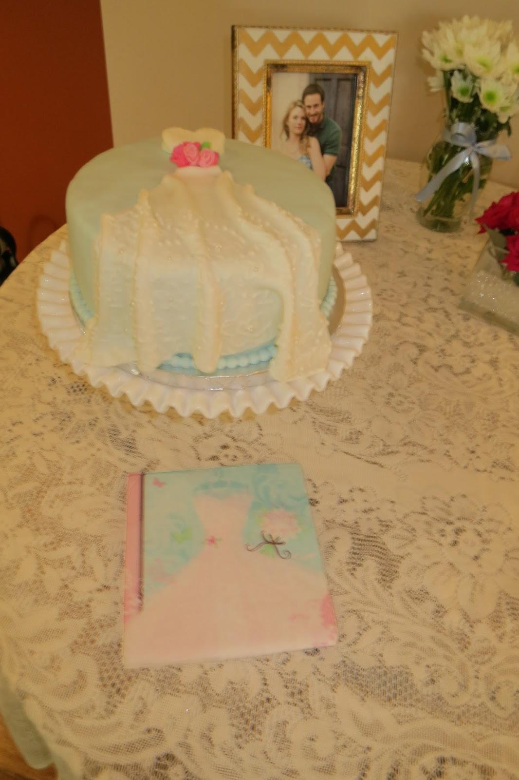Fifty Shades of Cakes: Wedding Dress Bridal Shower Cake