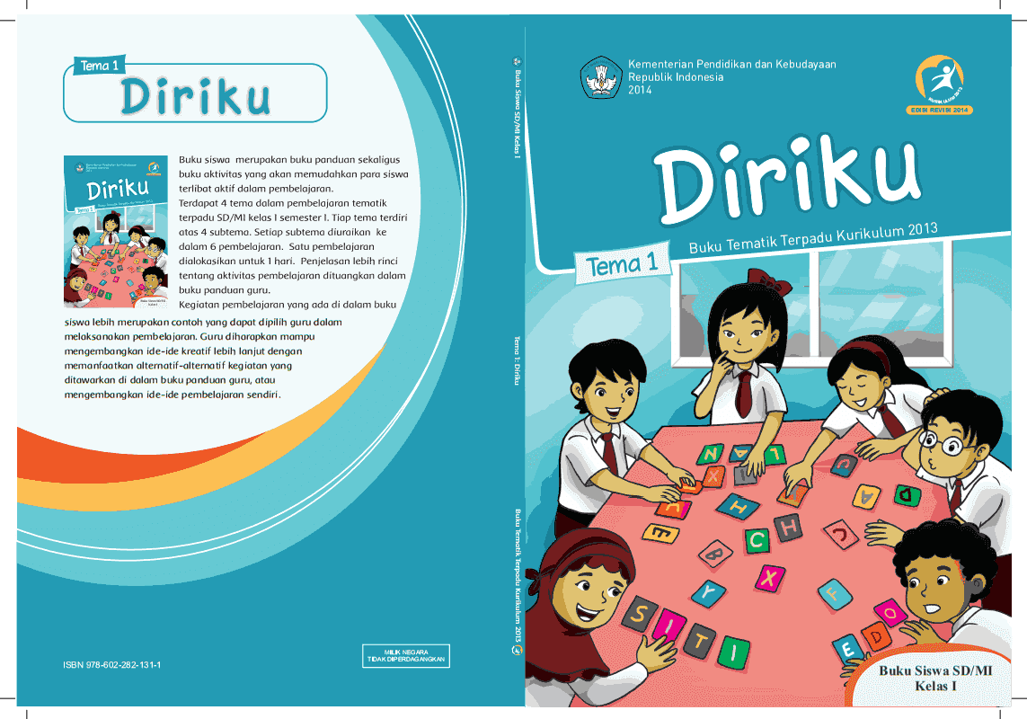 Sdit Ulul Albab Tarakan Buku Tematik Kelas 1 Sd Kurikulum 2013