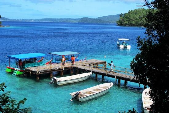 Rubiah Marine Park, Sabang, Aceh, Indonesia. AeroTourismZone