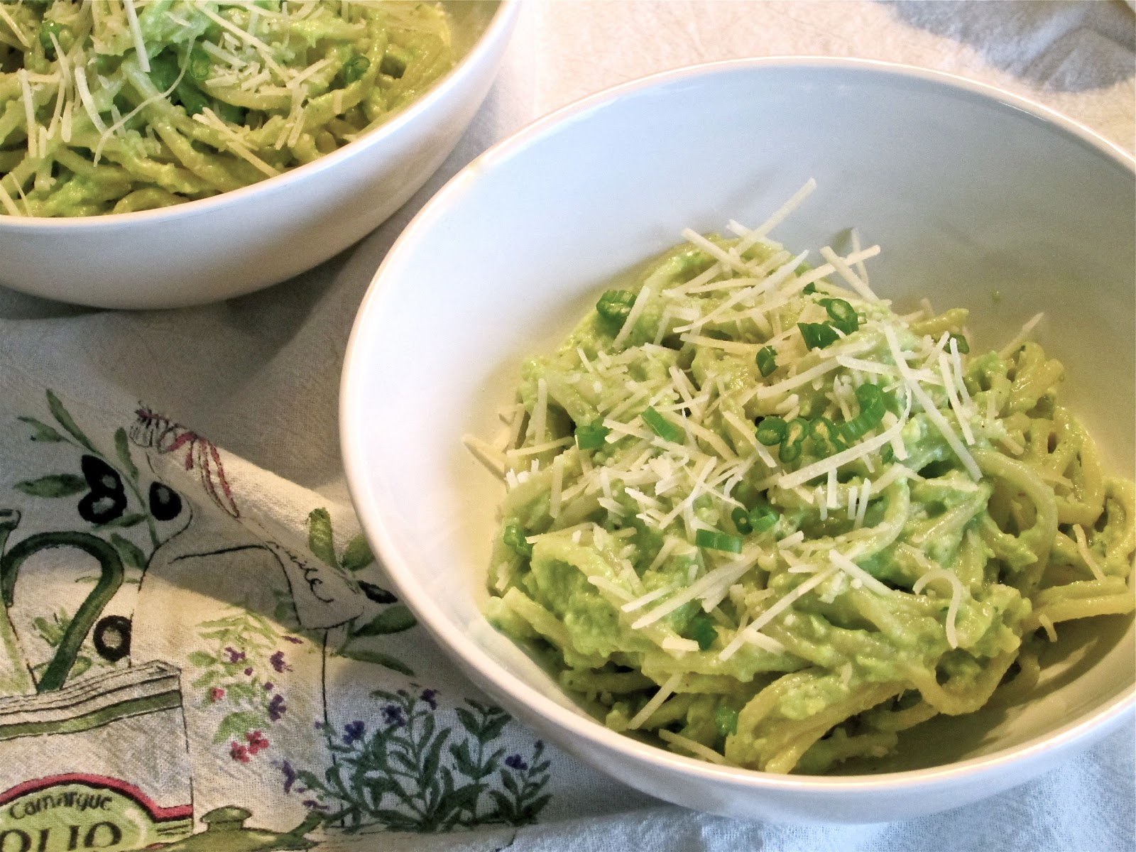 piece of cake . . .: Creamy Avocado Pasta