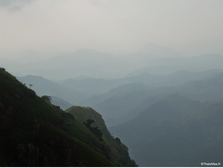 Small Adam's Peak Sri-Lanka horizon