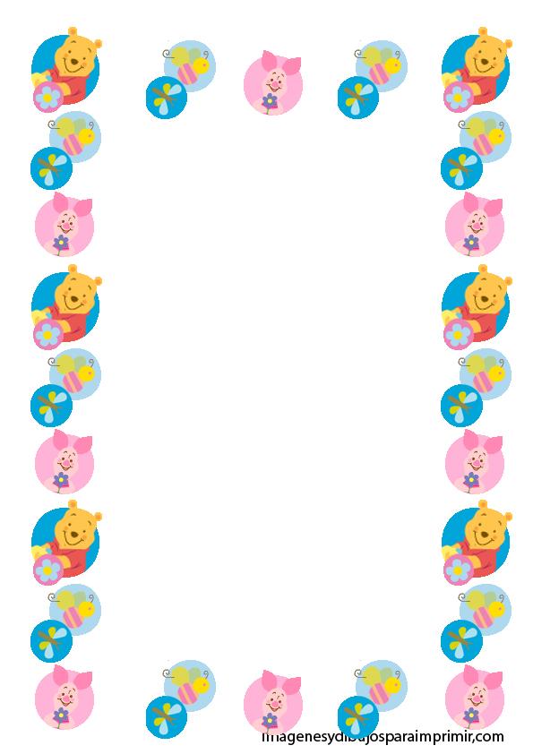 Marcos para hojas para niños - Imagui