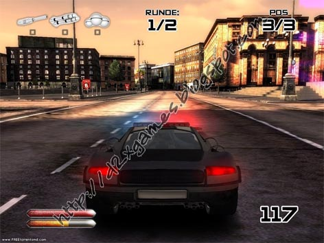 Free Download Games - Battle Metal Street Riot Control