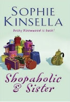 UK book cover of Shopaholic & Sister by Sophie Kinsella