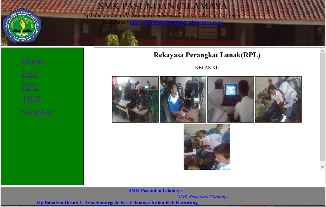 download program kerja wakasek kurikulum sma
