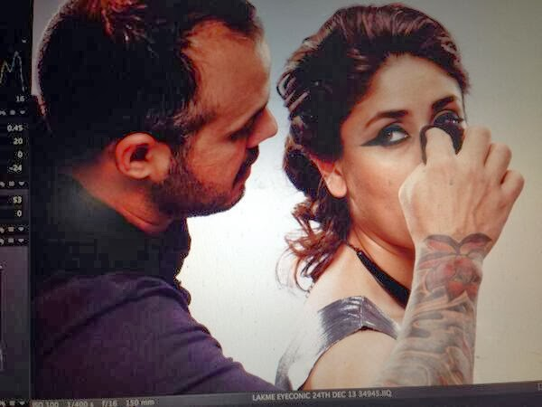 Kareena Kapoor Khan shoots for a Kajal Ad