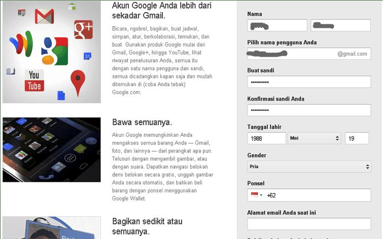 Email Gmail Baru 2