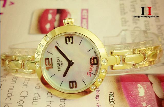 Đồng hồ nữ đính đá Tissot đẹp nhất 2015