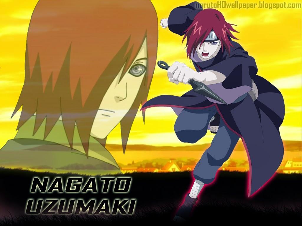 Nagato Member Of Akatsuki Naruto Shippuden Wallpaper