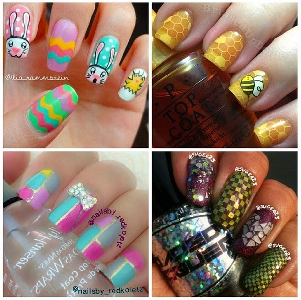 4 Runners Up For Glitter Lambs Nail Art Contest