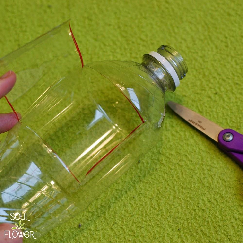 7 cut door in bottle - 13 Oz or Less - A Recycled Bottle Mailer DIY