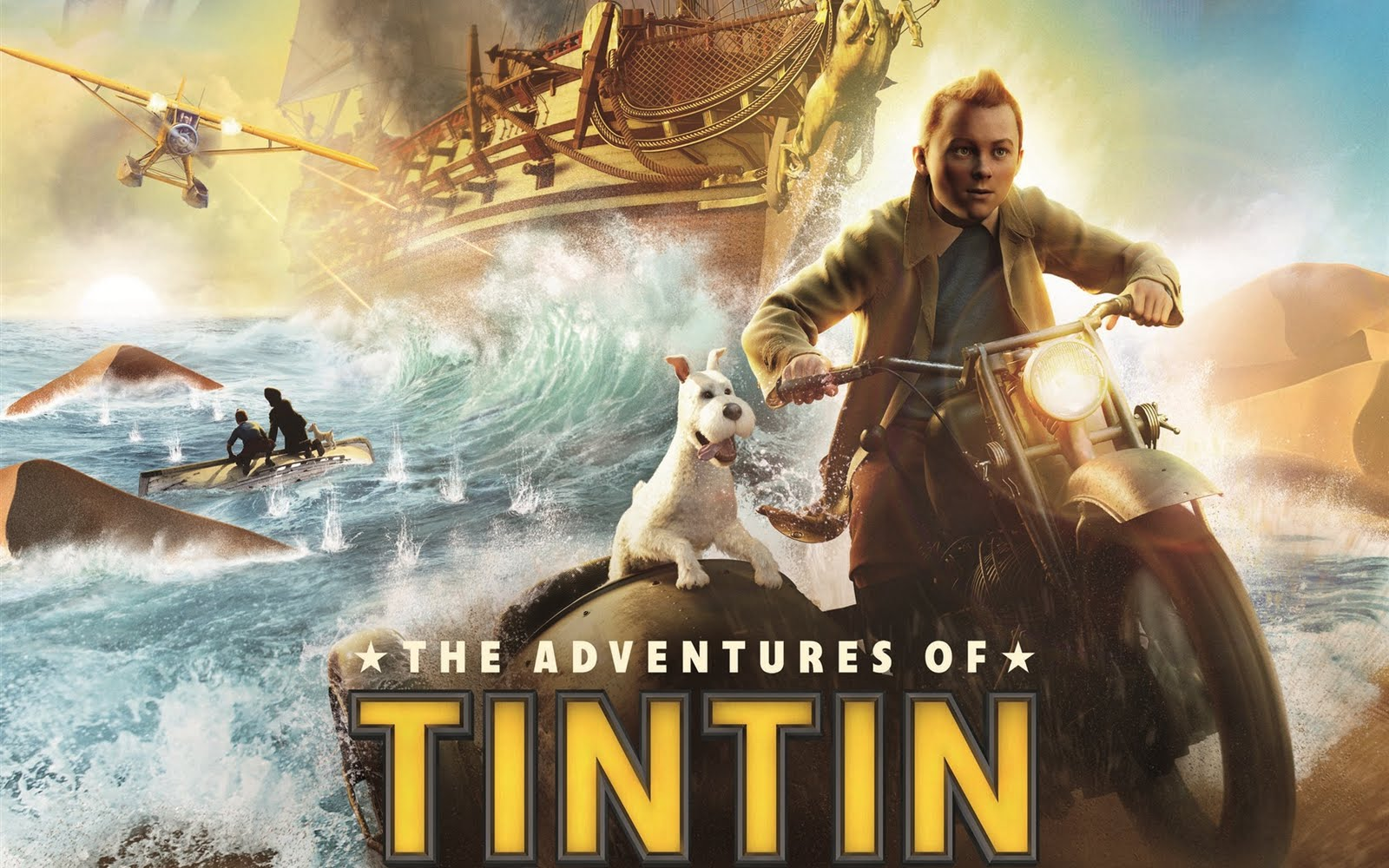 The Adventures of Tintin movie poster wallpaper picture ...