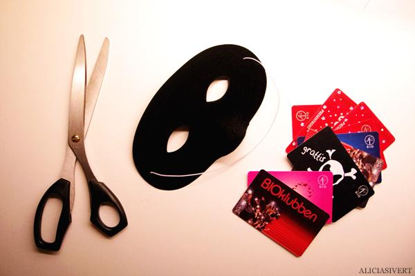 aliciasivert, alicia sivertsson, regionsfest, personalfest, sf, bio, biograf, presentkort, mask, maskerad, fest, kalas, diy, pyssel, skapa, dekorera, pimpa, pynta