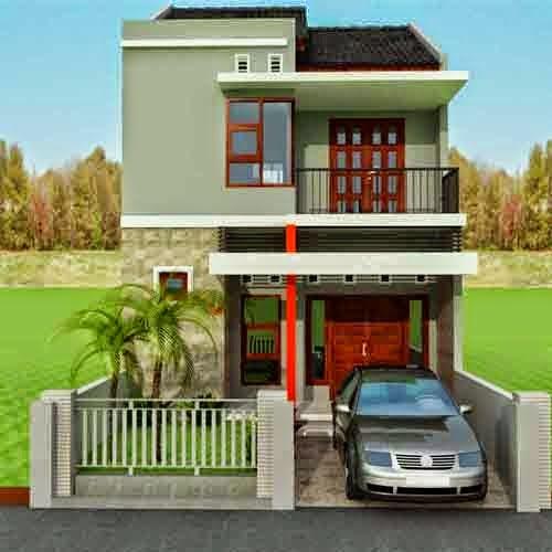 Minimalist Design House 2nd Floor, Type 36