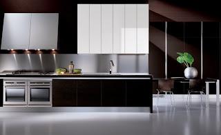 modern kitchen design and ideas in brown