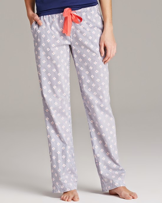 Jane & Bleecker nautical pajamas and loungewear