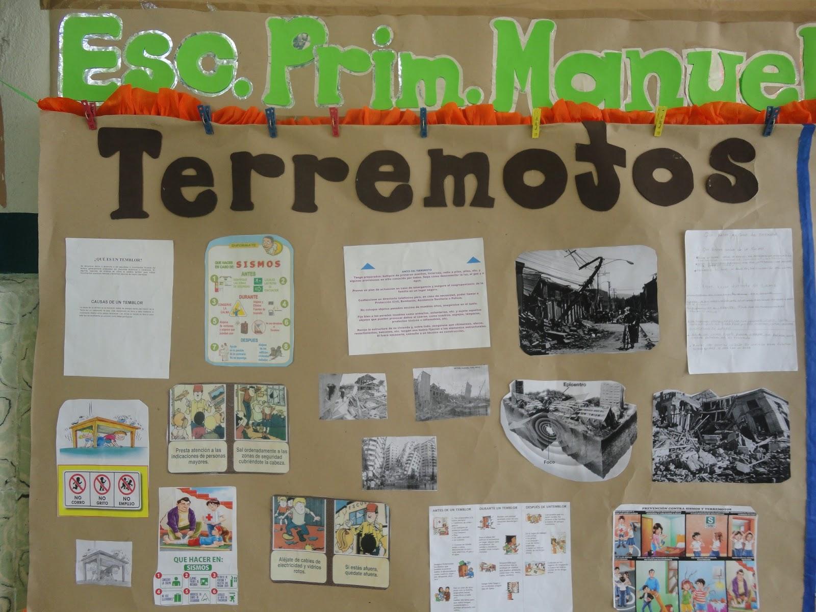 Aula educativa manuel carpio ii semana escolar de for Elaborar un periodico mural