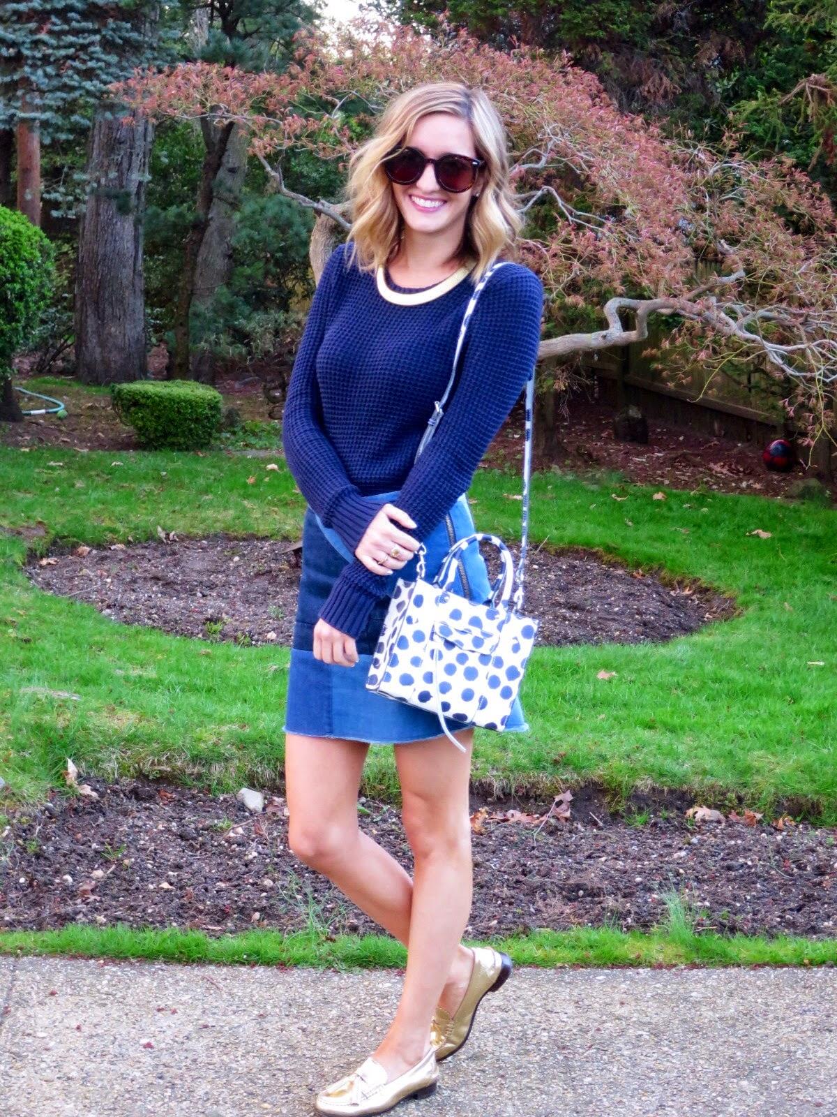 rebecca minkoff spotted bag
