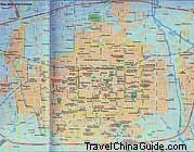 Xian City Map