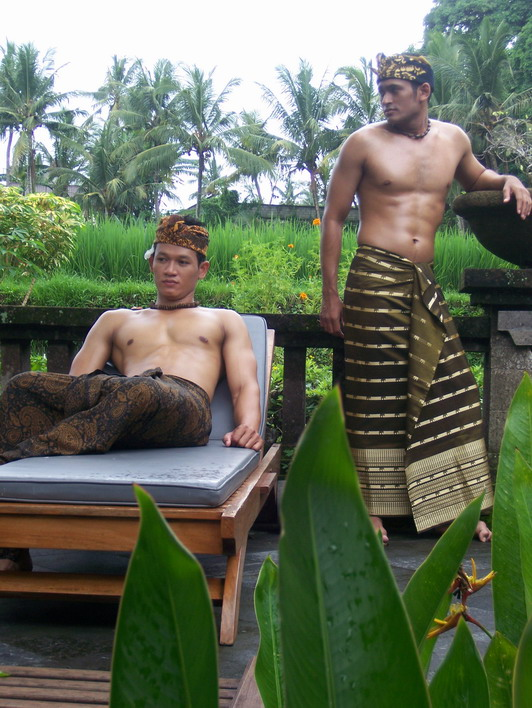male model Bali
