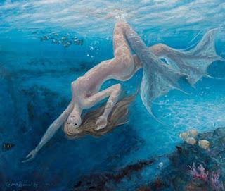 Oleos Sirenas Desnudas