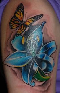 Diseños de flor tatuaje -12