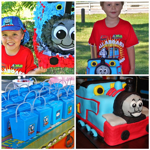 Thomas The Train Birthday Party