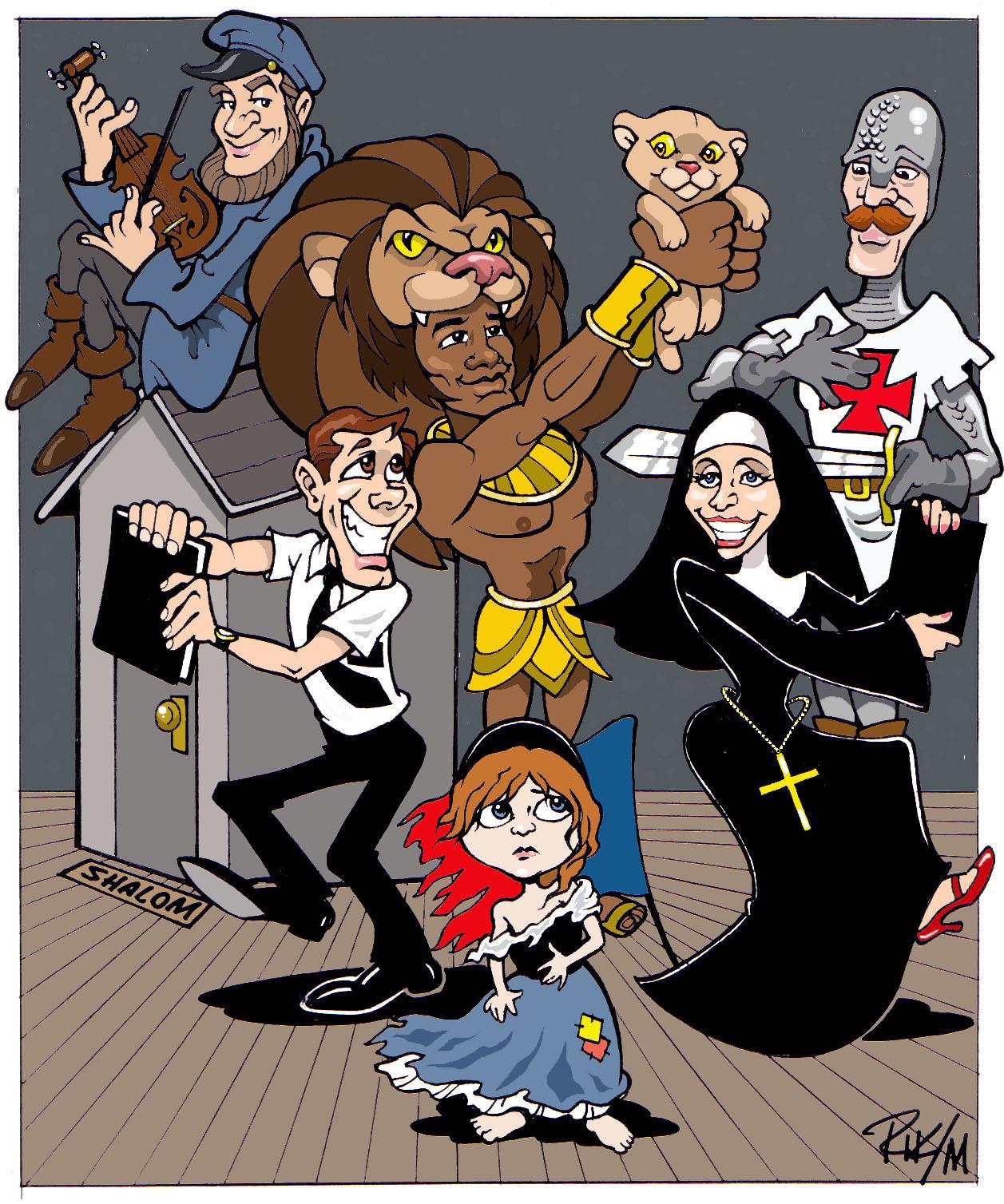 Broadway Cartoon